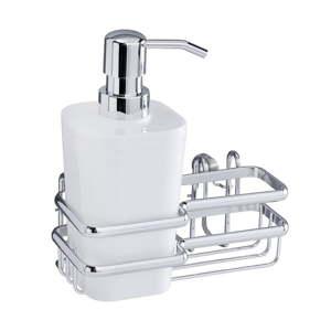 Nástěnný držák na mycí pomůcky Wenko Wash Up Style