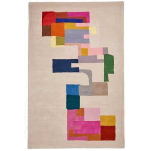 Vlněný koberec Think Rugs Inaluxe Hey Ho Lets Go, 120x170 cm