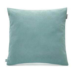 Světle modrý povlak na polštář se sametovým povrchem Mumla Velvet, 45 x 45 cm