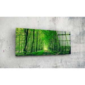 Skleněný obraz Insigne Hurenno, 92x36cm