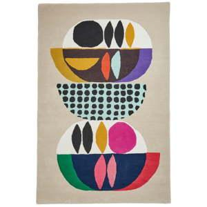 Vlněný koberec Think Rugs Inaluxe Neon, 120x170 cm