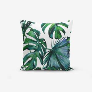 Povlak na polštář s příměsí bavlny Minimalist Cushion Covers Exotic, 45 x 45 cm