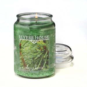 Vonná svíčka ve skle s vůní jedle Candle-Lite, doba hoření až 120hodin