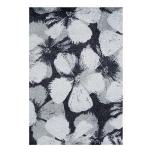 Šedý koberec White Label Grau, 50 x 70 cm