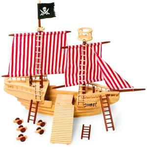 Dřevěná pirátská loď na hraní Legler Pirate