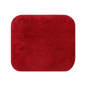 Červená koupelnová předložka Confetti Miami, 50 x 57 cm