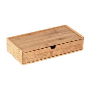 Bambusový úložný box spřihrádkou Wenko Terra