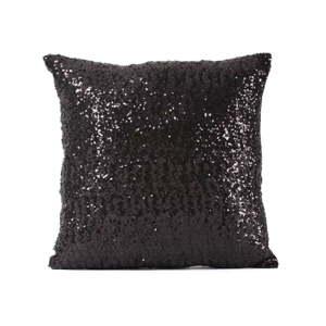 Černý povlak na polštář s flitry Minimalist Cushion Covers, 40 x 40 cm