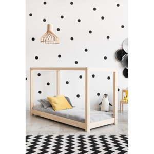 Domečková postel z borovicového dřeva Adeko Mila KM,120x200cm