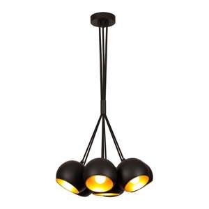 Černé závěsné svítidlo Opviq lights Sivani