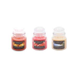 Sada 3 vonných svíček ve skle Candle-Lite Frresh Fruit, doba hoření až 27hodin