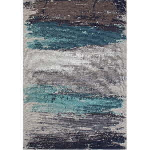 Běhoun Eco Rugs Aqua Abstract, 80 x 300 cm