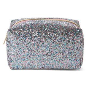 Šedá kosmetická taštička Tri-CoastalDesign Glitters