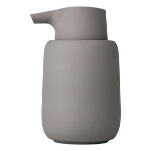 Šedý dávkovač mýdla Blomus Sono, 250ml