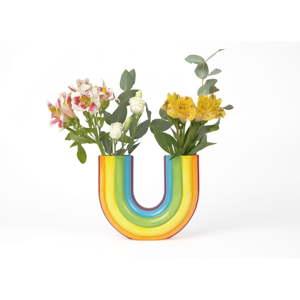 Váza DOIY Rainbow, výška 20 cm