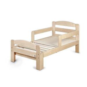Dřevěná rostoucí dětská postel YappyKids Grow, 70 x 140-190 cm