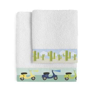 Set osušky a ručníku Happynois Summer