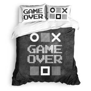 Sada ložního prádla ze 100 % ranforce bavlny The Club Cotton Game Over