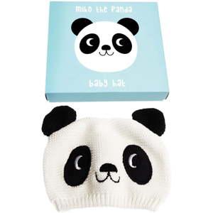 Dětská čepička ze 100% bavlny s pandou Rex London