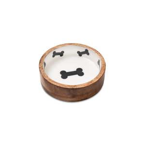 Dřevěná miska pro psy Marendog Bowl, ⌀ 18 cm