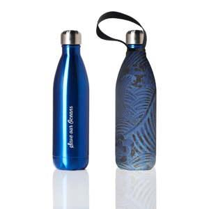 Cestovní termolahev s obalem BBBYO Tsunami Blue, 750 ml