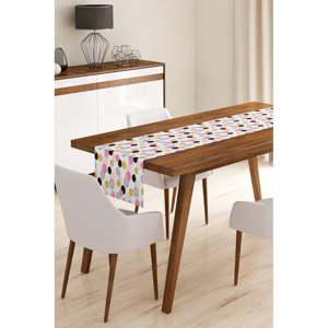 Běhoun na stůl z mikrovlákna Minimalist Cushion Covers Color Dots, 45x145cm
