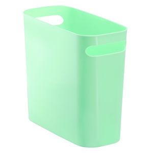 Zelený odpadkový koš iDesign Una, 8,8l