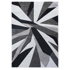 Černošedý koberec Flair Rugs Shatter Black Grey, 80x150cm