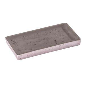 Šedý betonový podnos Wenko Mauve
