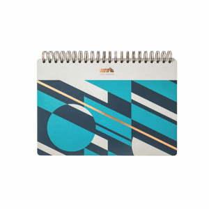 Zápisník Portico Designs Geometrico, 100 stránek