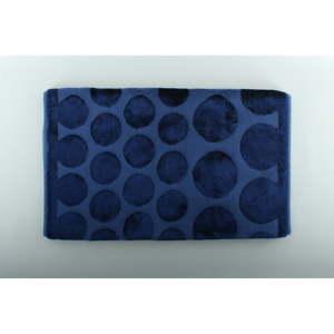 Modrá koupelnová předložka U.S. Polo Assn. Orem, 60x100cm