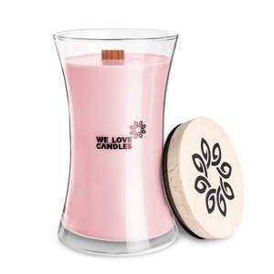 Svíčka ze sójového vosku We Love Candles Basket of Tulips, doba hoření 150 hodin