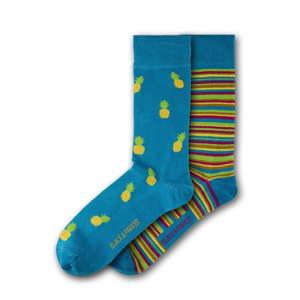 Sada 2 párů unisex ponožek Black&Parker London Anglesey Abbey, velikost 37 - 43