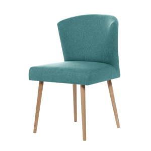 Světle modrá jídelní židle Rodier Richter