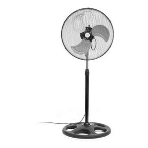 Černý ventilátor na podstavci InnovaGoods, ø45cm