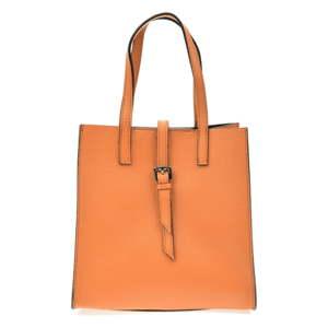 Dámská kožená kabelka v koňakově hnědé barvě Anna Luchini Ferrara