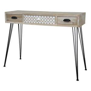 Světle hnědý konzolový stolek Livin Hill Loano
