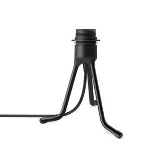 Černý polohovací stojan tripod na světla VITA Copenhagen, výška18,5cm