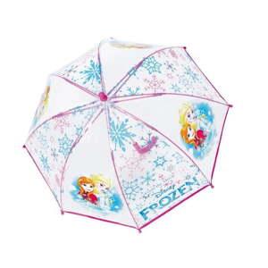 Dětský transparentní holový deštník Birdcage Frozen Anna&Elsa, ⌀66cm
