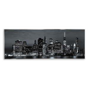 Obraz na plátně Styler Silver City, 152 x 62 cm