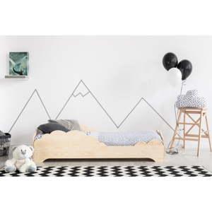 Dětská postel z borovicového dřeva Adeko BOX 9, 80x180 cm