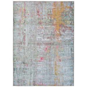 Barevný abstraktní koberec s vysokým podílem bavlny Universal Exclusive, 190 x 130 cm