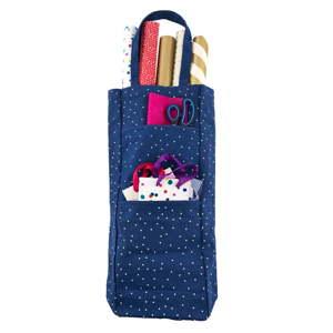 Modrá taška na balící potřeby Busy B Gifty