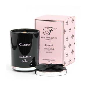 Vonná svíčka ve skle ze sojového vosku Candle-Lite Chantal, doba hoření až 50 hodin
