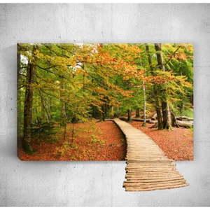 Nástěnný 3D obraz Mosticx Wood Way, 40 x 60 cm