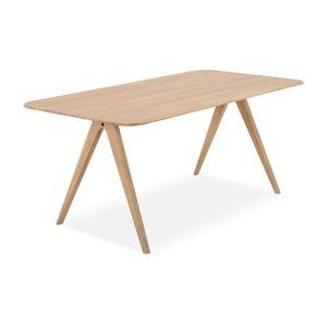 Jídelní stůl z dubového dřeva Gazzda Ava, 90 x 180 cm