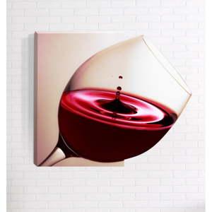 Nástěnný 3D obraz Mosticx Víno, 40 x 60 cm