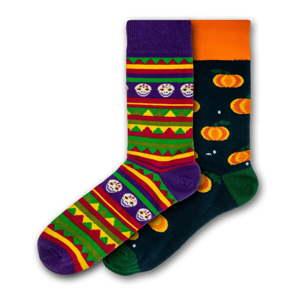 Sada 2 párů barevných ponožek Funky Steps, velikost 41 - 45