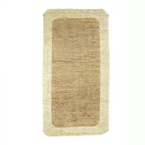 Jutový koberec Simla Border, 140x70cm