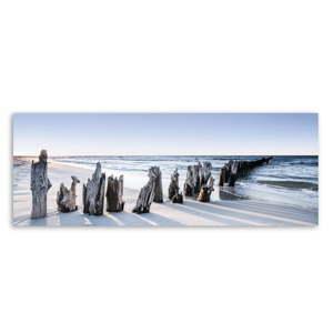 Obraz na plátně Styler Blue Sunset, 150 x 60 cm